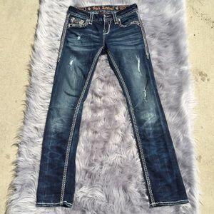 Rock Revival Jeans - Rock Revival Elvina Straight Leg Jeans Size 27